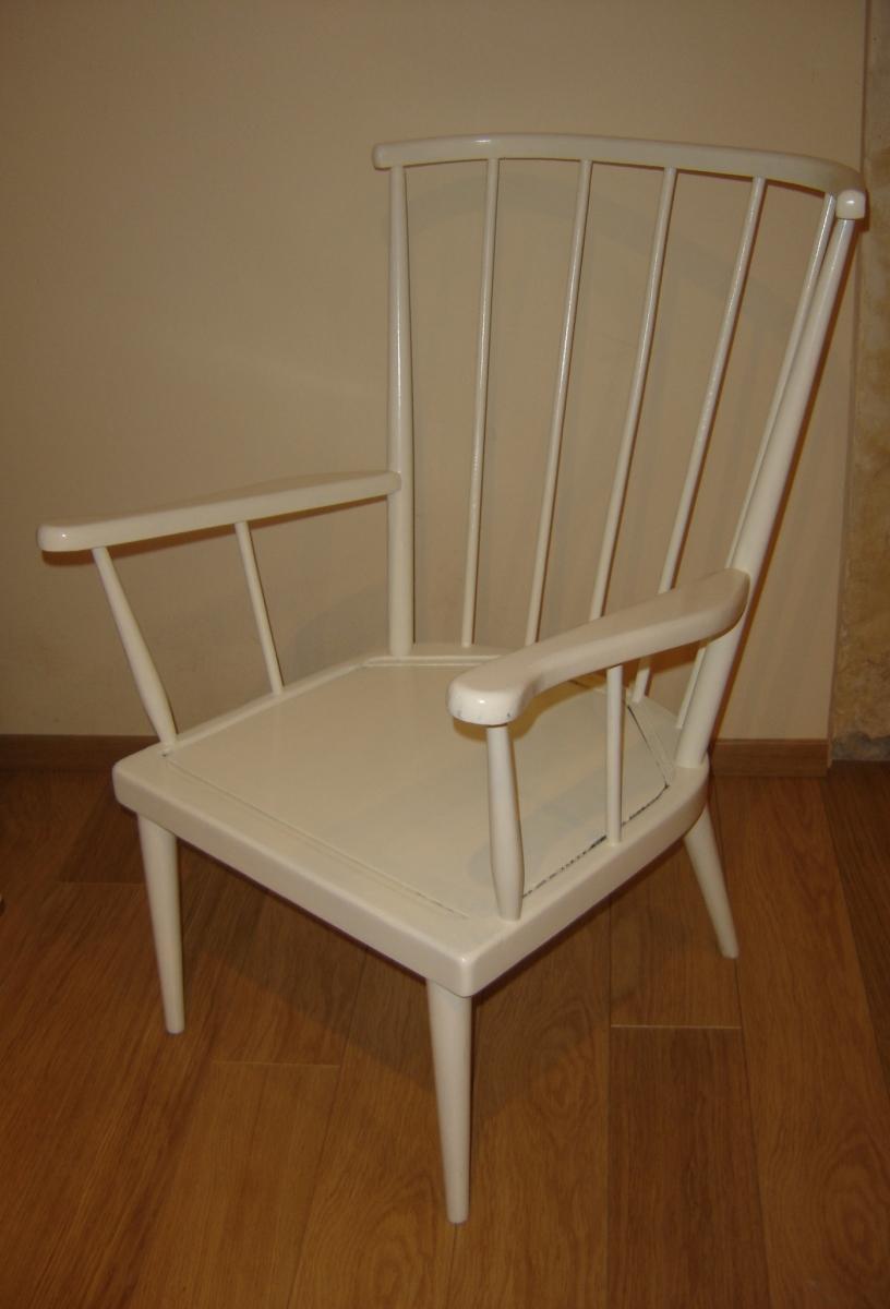 fauteuil eventail baumann luckyfind. Black Bedroom Furniture Sets. Home Design Ideas