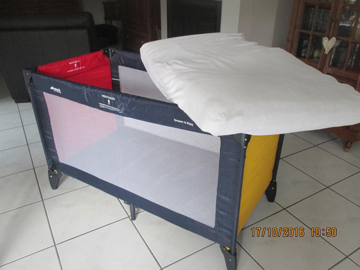 lit parapluie enfant matelas al se et drap luckyfind. Black Bedroom Furniture Sets. Home Design Ideas