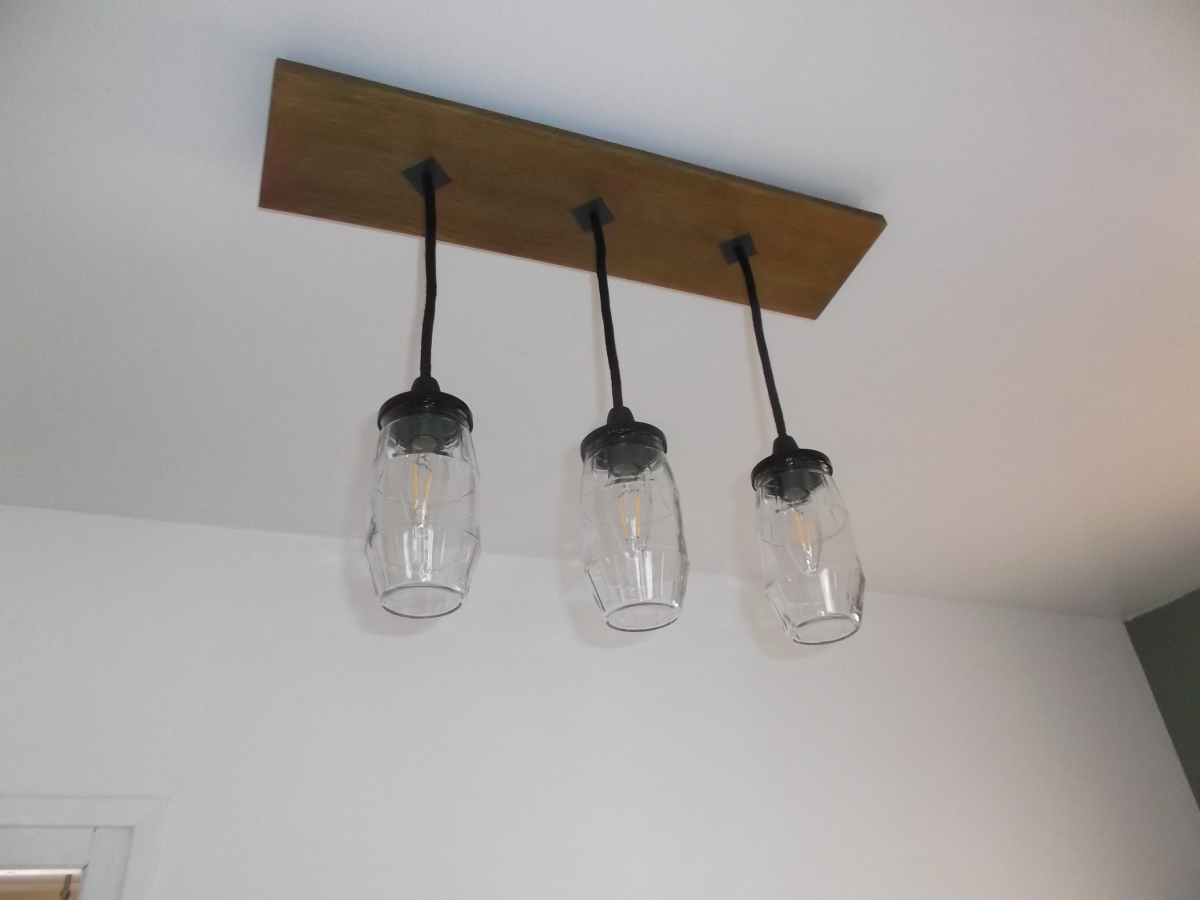 Lustre suspension luminaire industriel luckyfind for Luminaire suspension industriel