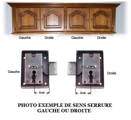 serrure de meuble a cylindre 5303 vachette luckyfind. Black Bedroom Furniture Sets. Home Design Ideas
