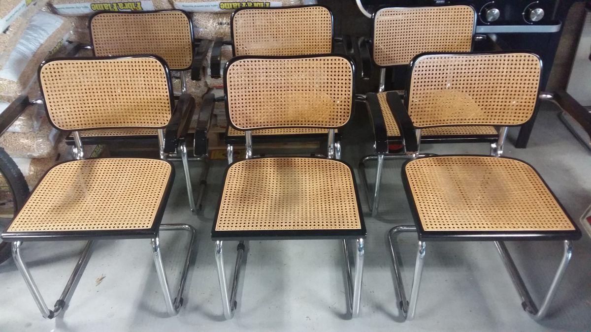 6 fauteuils style marcel breuer luckyfind. Black Bedroom Furniture Sets. Home Design Ideas