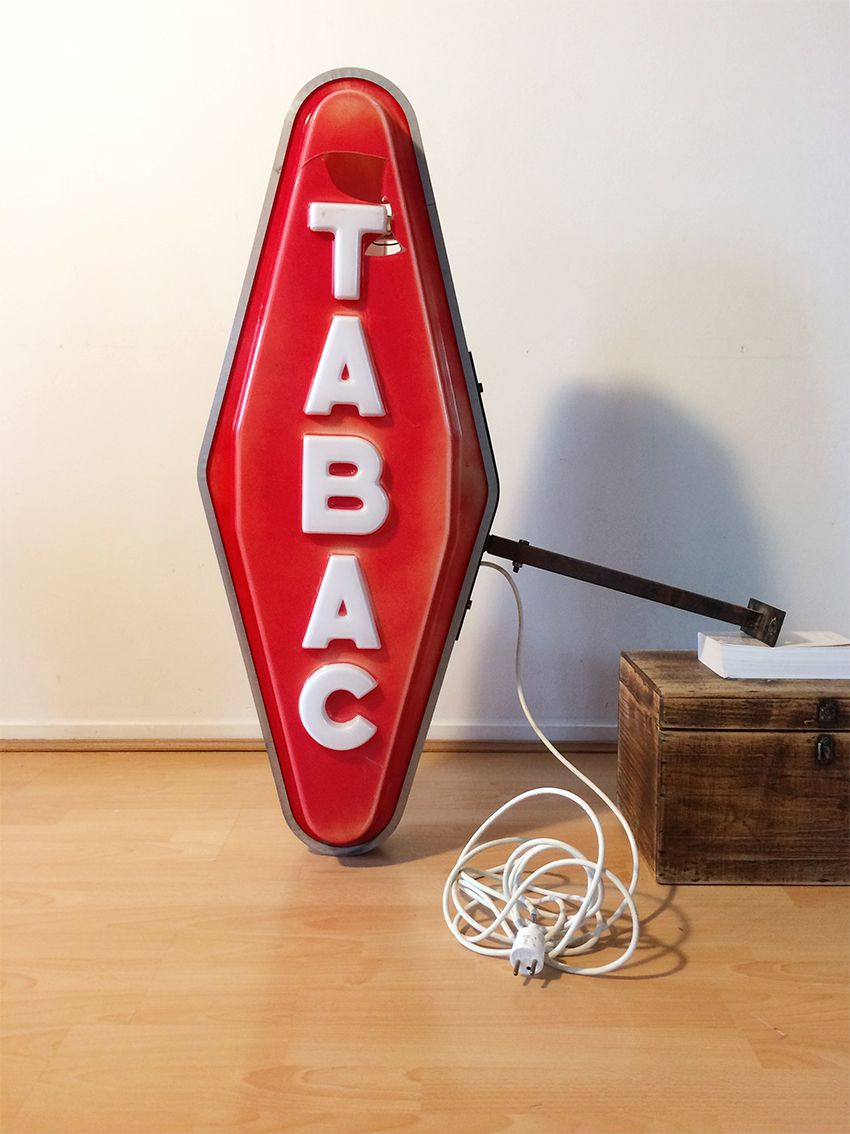 Ancienne enseigne carotte tabac luckyfind - Enseigne tabac carotte ...