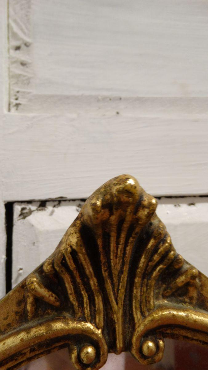 Petit miroir de style baroque dor luckyfind for Petit miroir dore