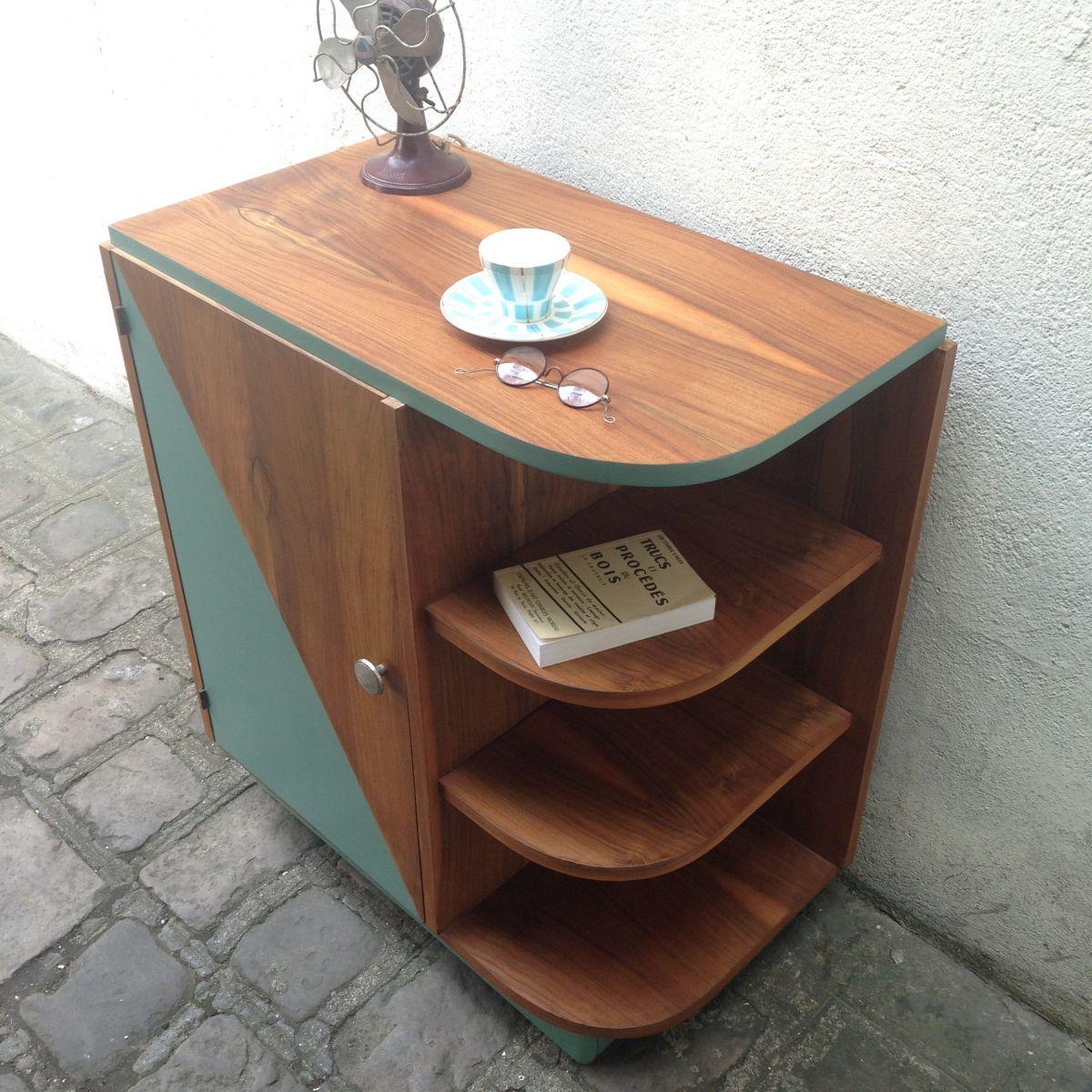 meuble style art d co luckyfind. Black Bedroom Furniture Sets. Home Design Ideas