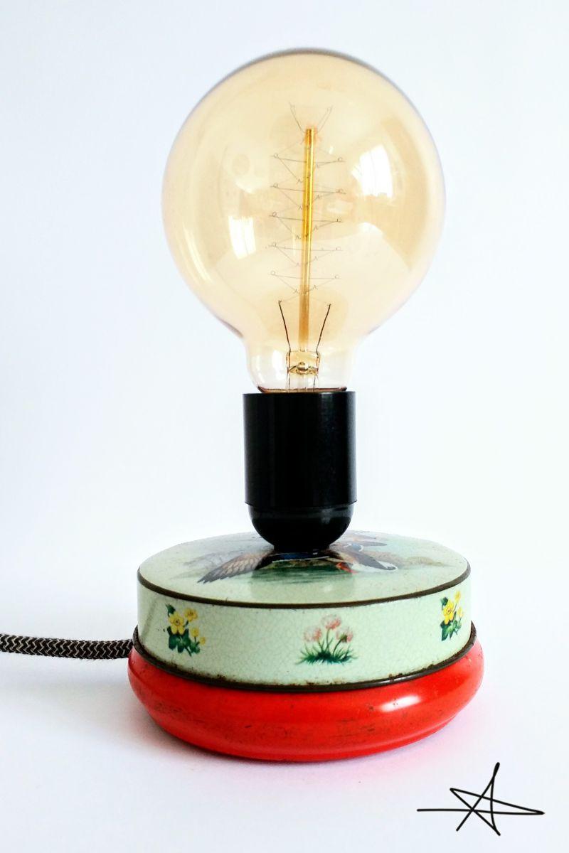 lampe poser vintage saturnin luckyfind. Black Bedroom Furniture Sets. Home Design Ideas