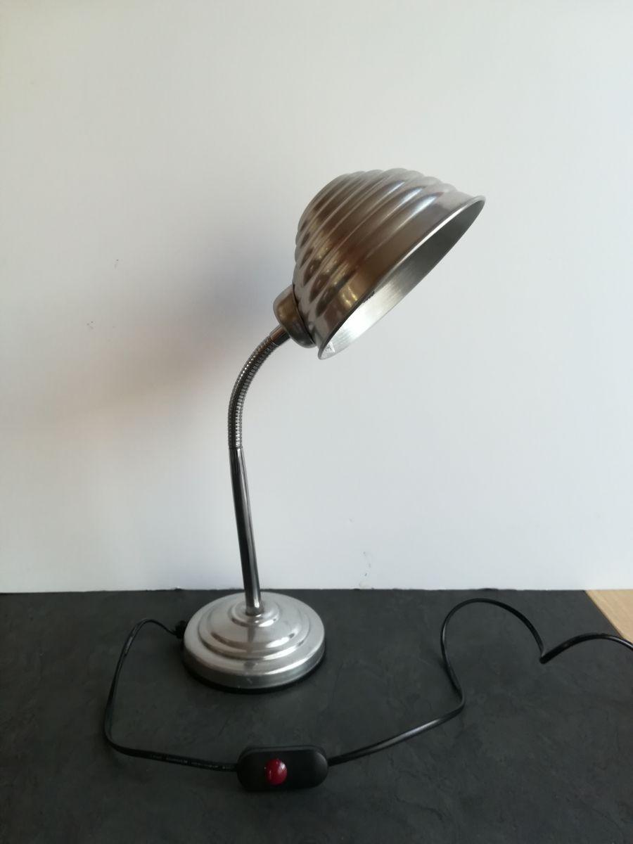 Lampe vintage industriel Circa 1970 - Luckyfind