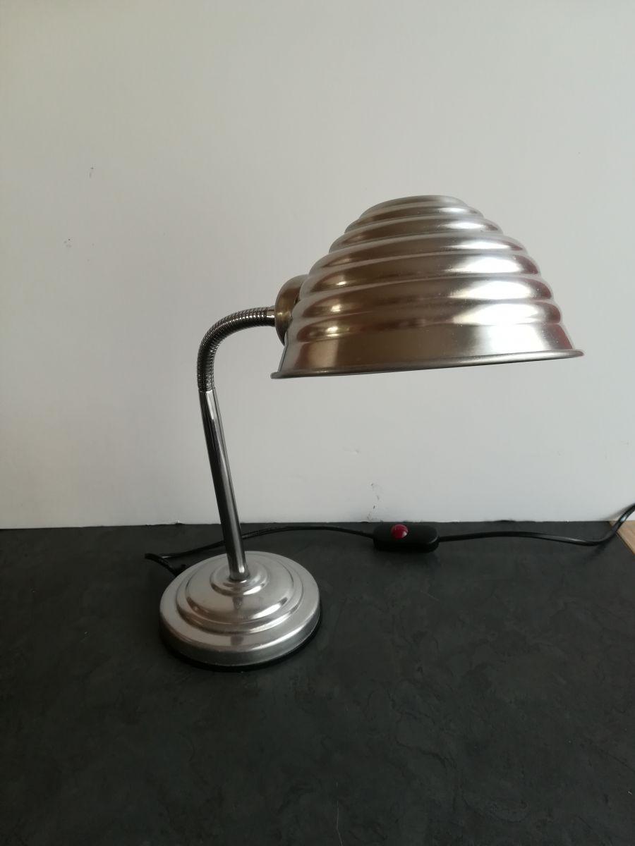 lampe vintage industriel circa 1970 luckyfind. Black Bedroom Furniture Sets. Home Design Ideas