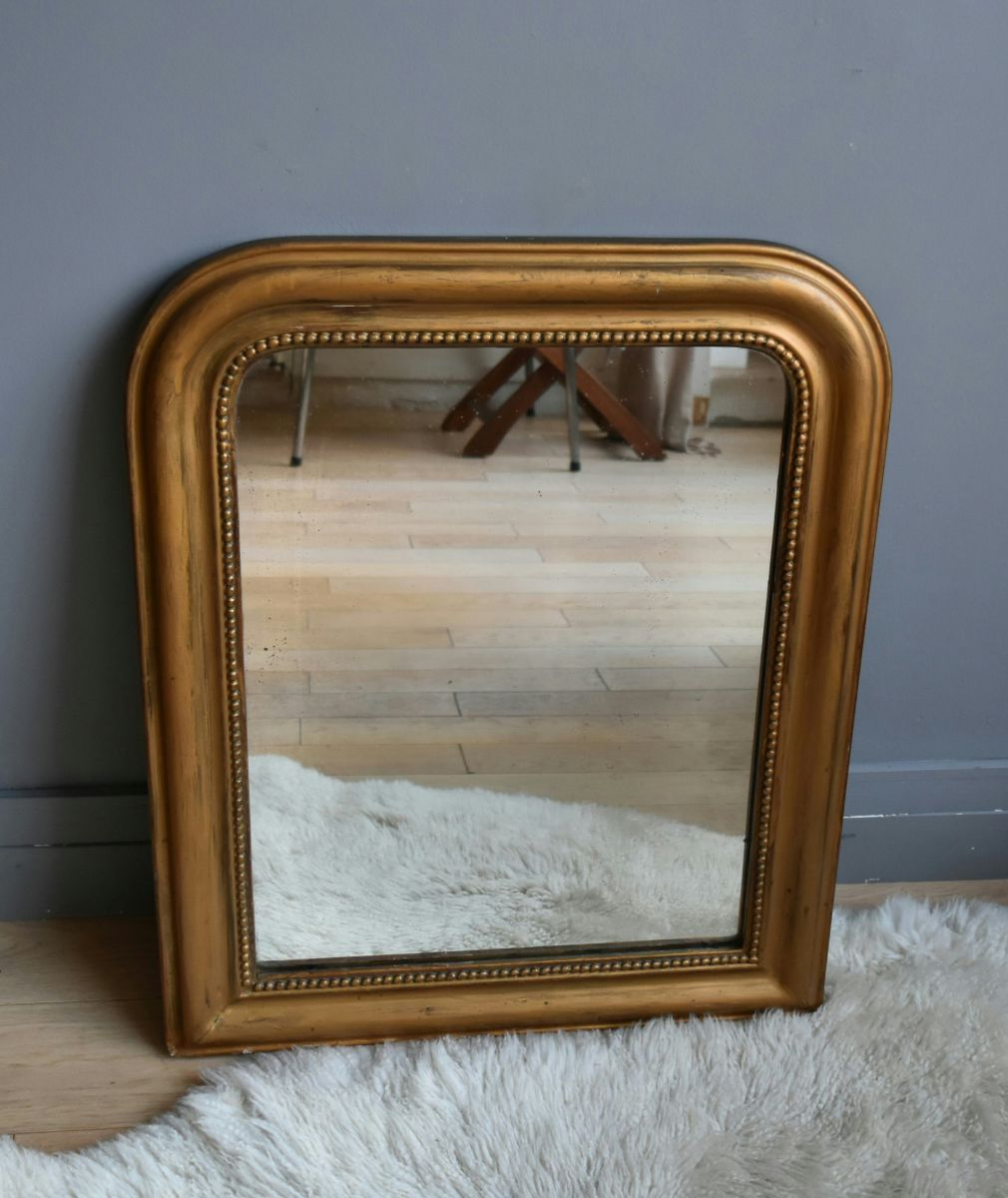 Tr s beau miroir louis philippe luckyfind for Beaux miroirs
