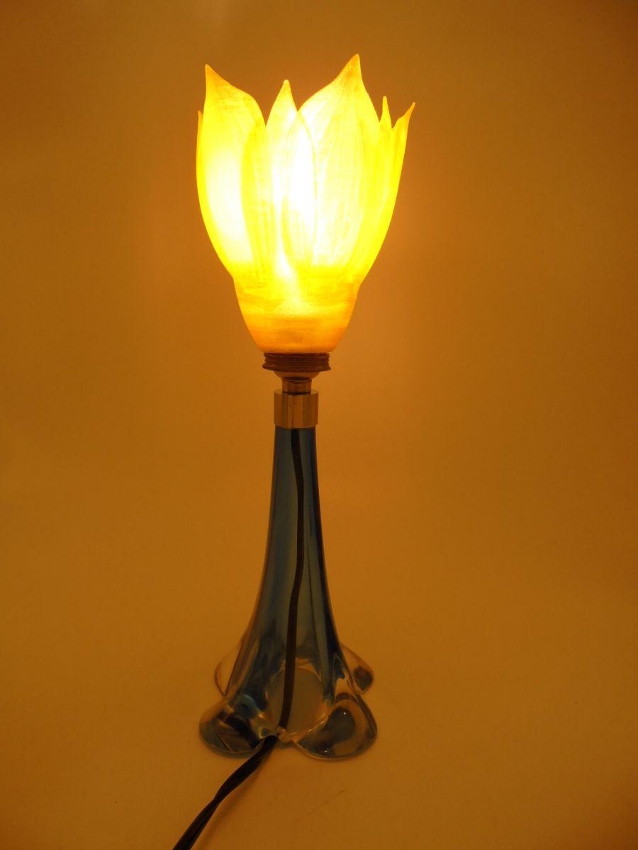 Lampe Fleur Jaune Luckyfind