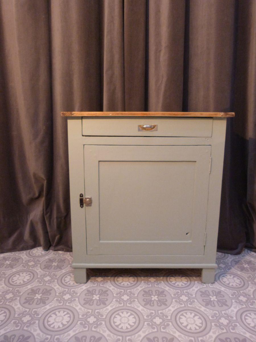 Buffet parisien une porte et un tiroir luckyfind for Meuble une porte et un tiroir