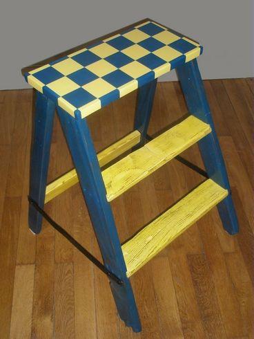 escabeau de peintre 1955 hector luckyfind. Black Bedroom Furniture Sets. Home Design Ideas