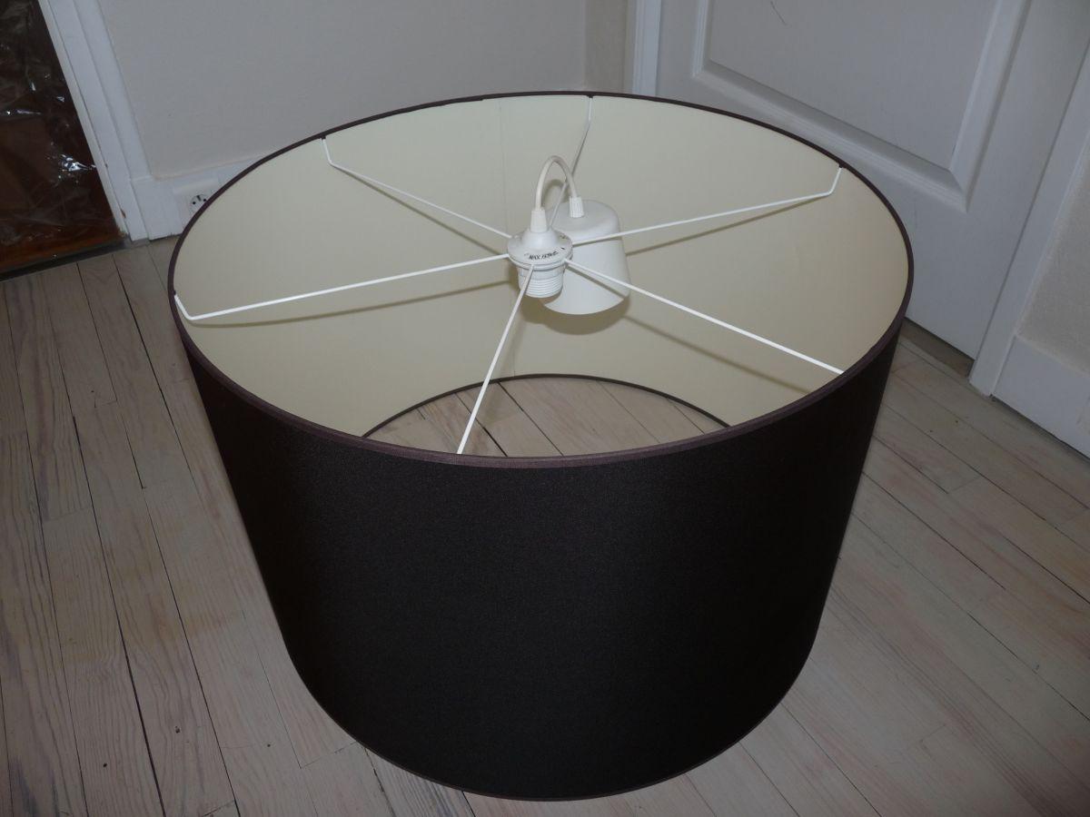 abat jour en taffetas luckyfind. Black Bedroom Furniture Sets. Home Design Ideas
