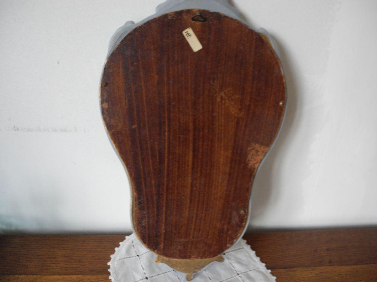 miroir ancien en bois patin pour d co de charme style shabby luckyfind. Black Bedroom Furniture Sets. Home Design Ideas