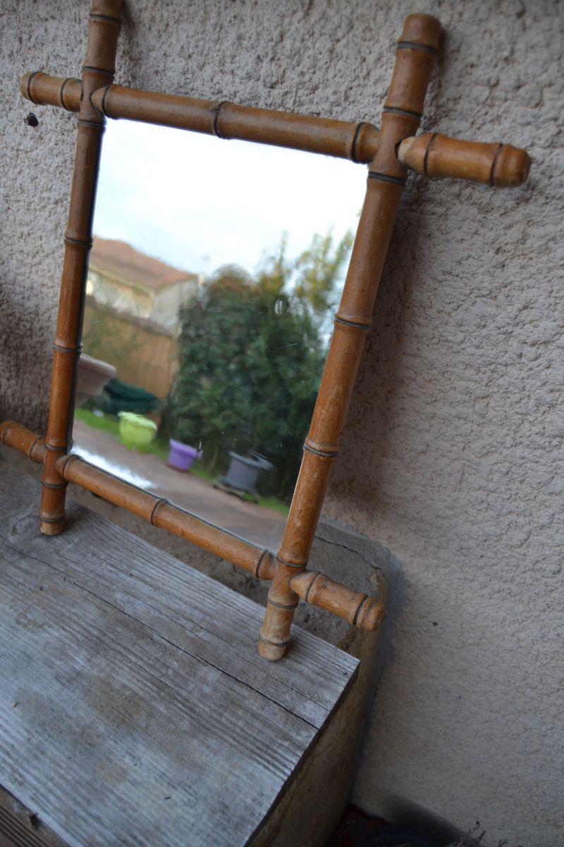 Miroir bambou luckyfind for Miroir bambou