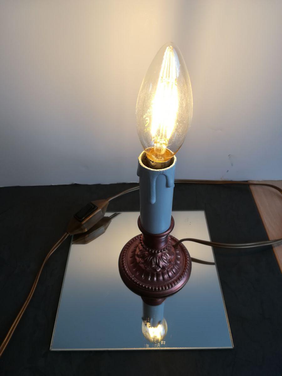 lampe en laiton bomb en cuivre luckyfind. Black Bedroom Furniture Sets. Home Design Ideas