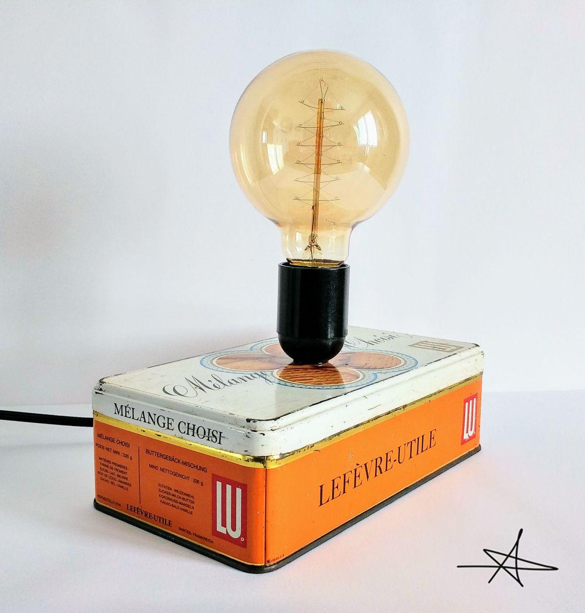 lampe vintage lampe de bureau lampe de chevet mon p. Black Bedroom Furniture Sets. Home Design Ideas