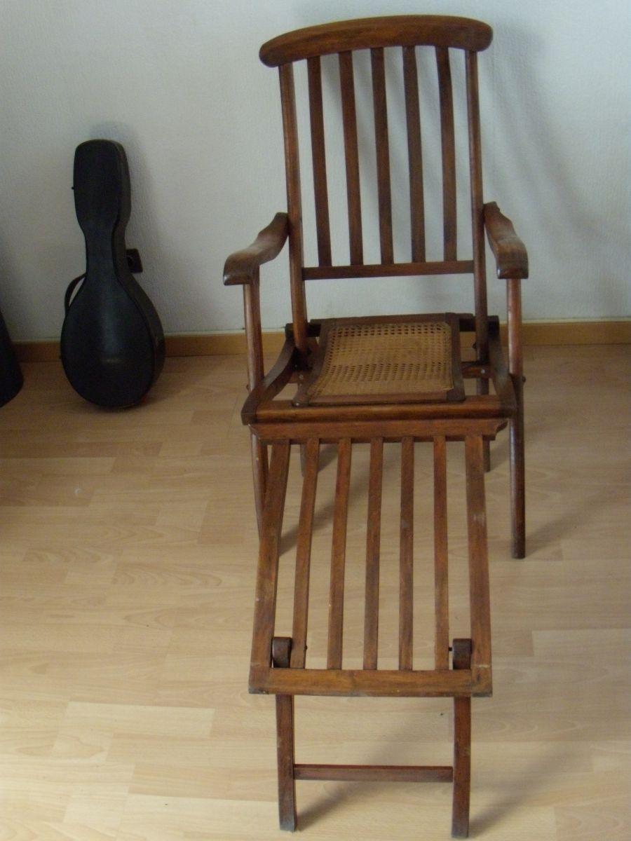 Chaise longue transat 60s luckyfind for Chaises longues transat