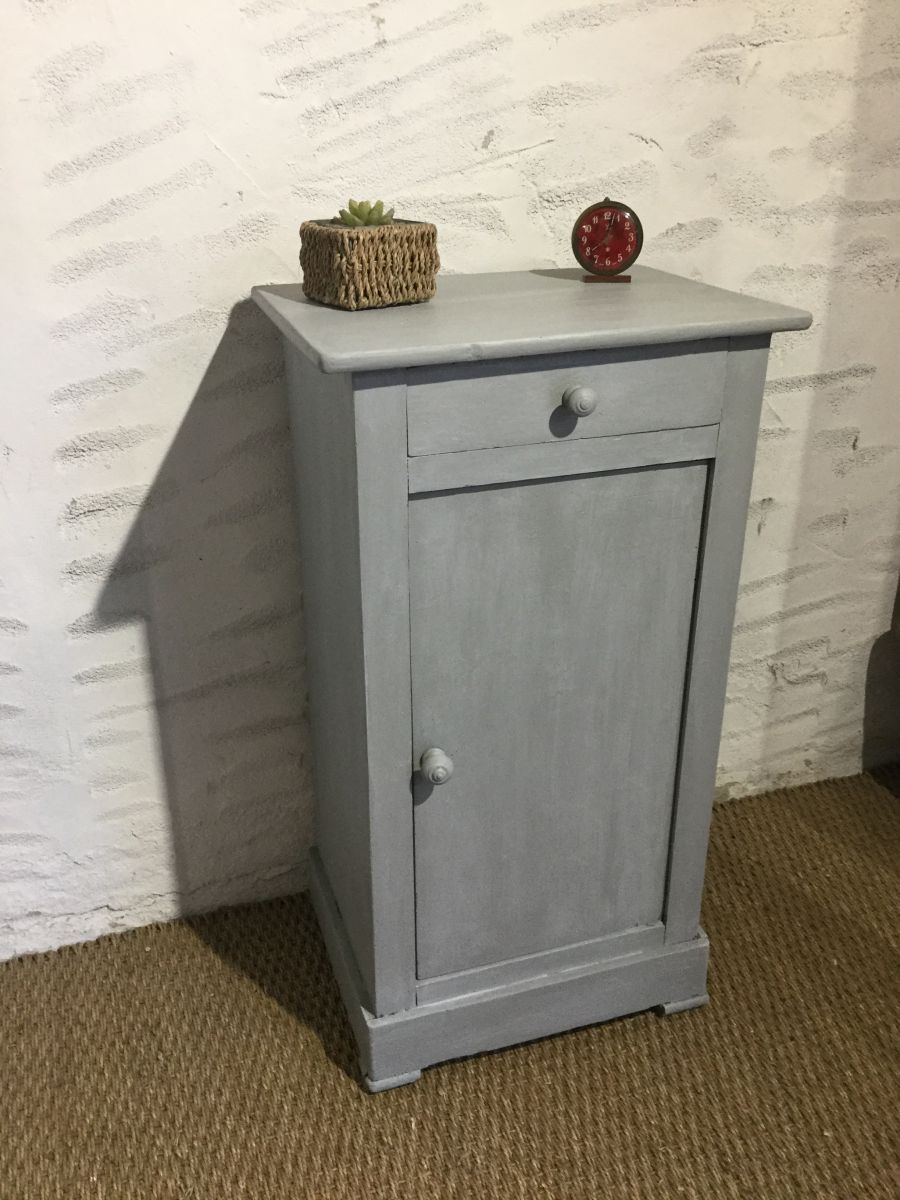 Chevet meuble d appoint ancien luckyfind - Meuble ancien d occasion ...