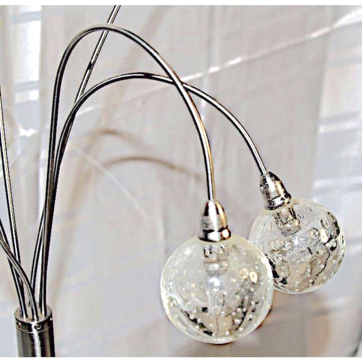 lampe de table 6 bras jan des bouvrie vintage luckyfind. Black Bedroom Furniture Sets. Home Design Ideas