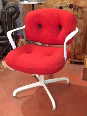 Paire de fauteuils de bureau knoll par morrisson hannah luckyfind - Fauteuil de bureau knoll ...