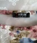 Top Morgan romantique entièrement doublé T32-34-36