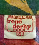 Original chemisier vintage T34-36 René Derhy à nouer