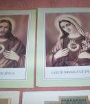 LOT ancien papiers religieux vrac