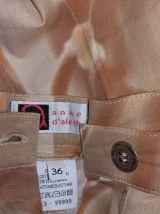 """Ensemble pantalon été """"Anne d'Aleth"""" imprimé T36"""