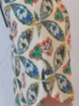 Robe kaleidoscope coloré T36-38