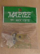 clip pour chapeau de golf / Magnetic Hat Clip- doré, argenté, transparent- Neuf
