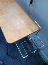 console vintage, bureau original, table à repasser Libellule recyclée, détournée, recyclage, détournement