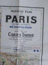 carte de paris de 1956