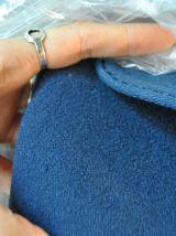 Manteau laine bleu Vintage