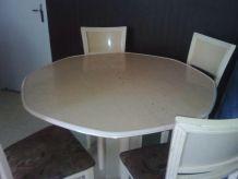 Ensemble table + buffet + miroir