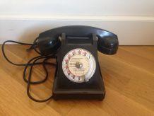 Téléphone Vintage bakelite pas cher