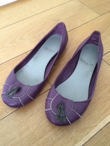Ballerine violette la petite mendigotte