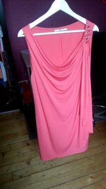 robe rose/corail