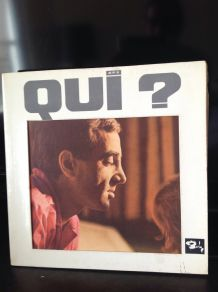 "Vinyle vintage ""Qui"""