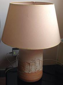 Grande lampe à poser vintage