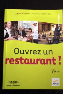 """Livre d'occasion """"Ouvrez un restaurant"""""""