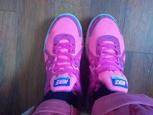 Basket Nike rose