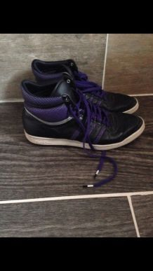 Baskets Adidas cuir