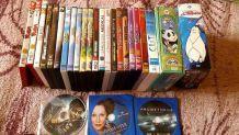 lot de plusieurs DVD