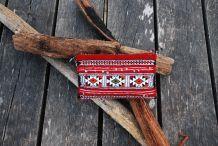 Pochette amazigh rouge