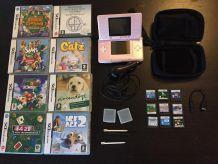 Nintendo DS + 9 jeux + Accessoires