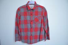 Chemise bucheron gris & rouge ZARA - Taille 4/5 ans ZA