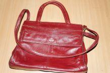 sac vintage porté main ou épaule
