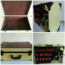 Coffret à cigare/Valise/Gardel Havana Puros Quality/ Rare/Collection/Original