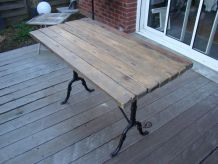 table type bistrot