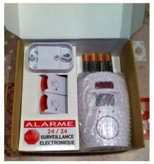 Alarme autonome infrarouge maison, garage, abris